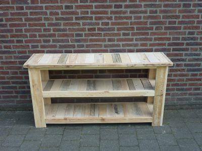 Sidetable Van Sloophout.Het Sloophout Atelier Producten